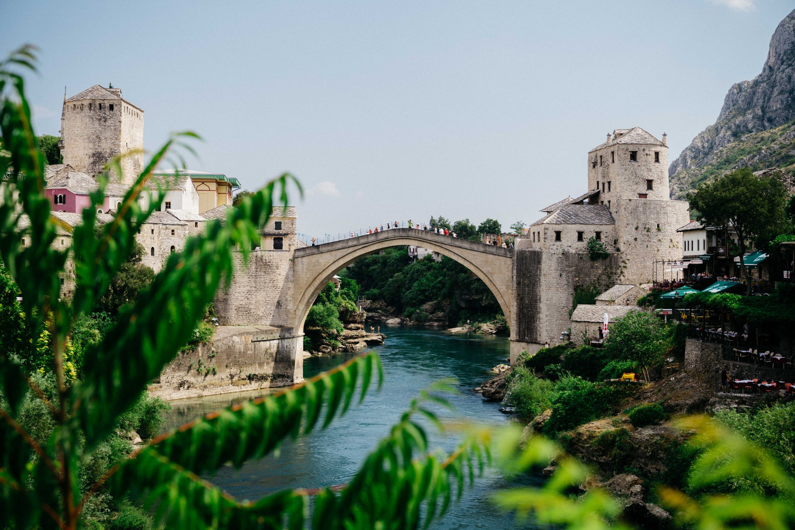 Mostar in Bosnia and Herzegovina.