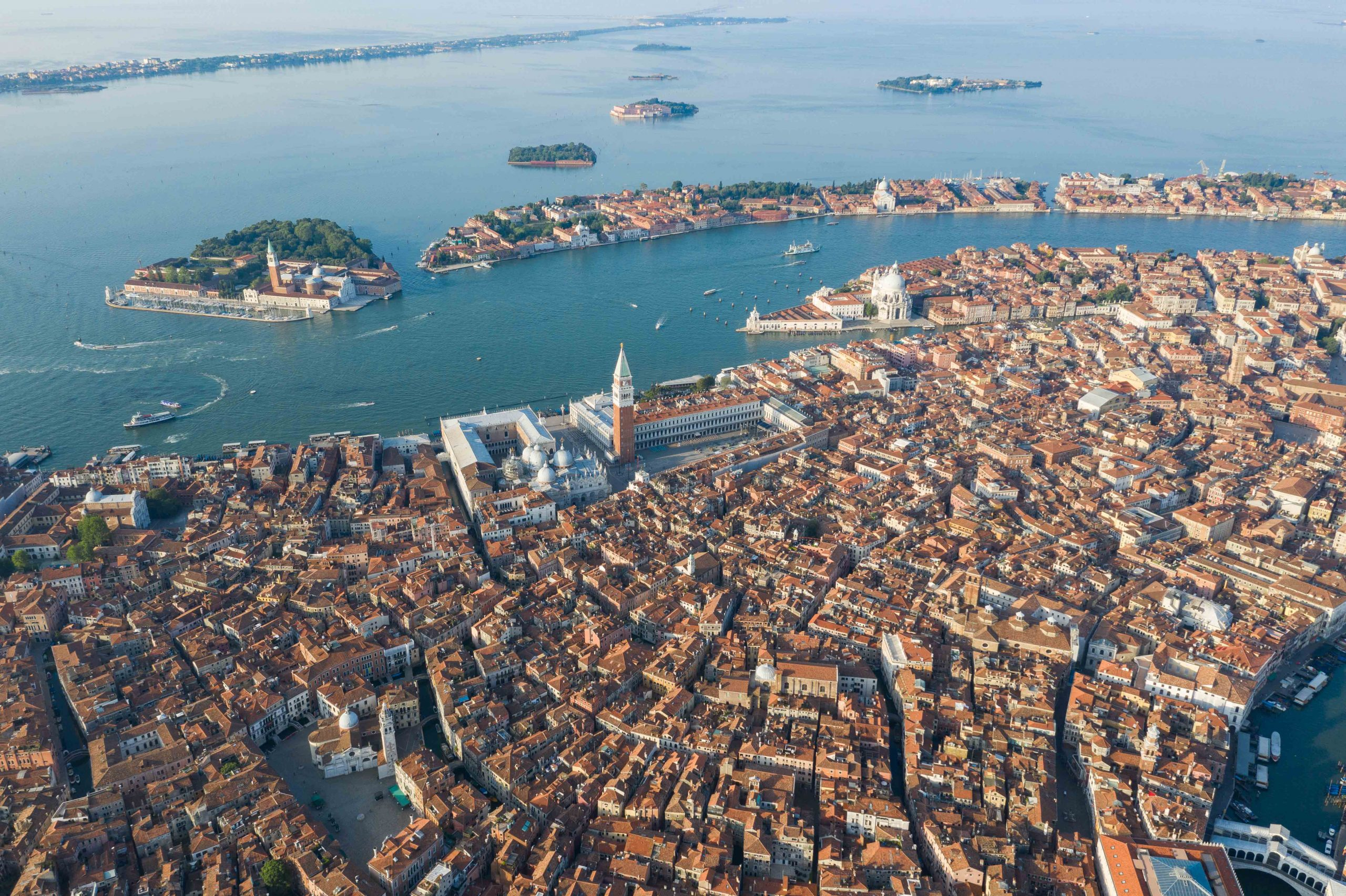 Venice from above.