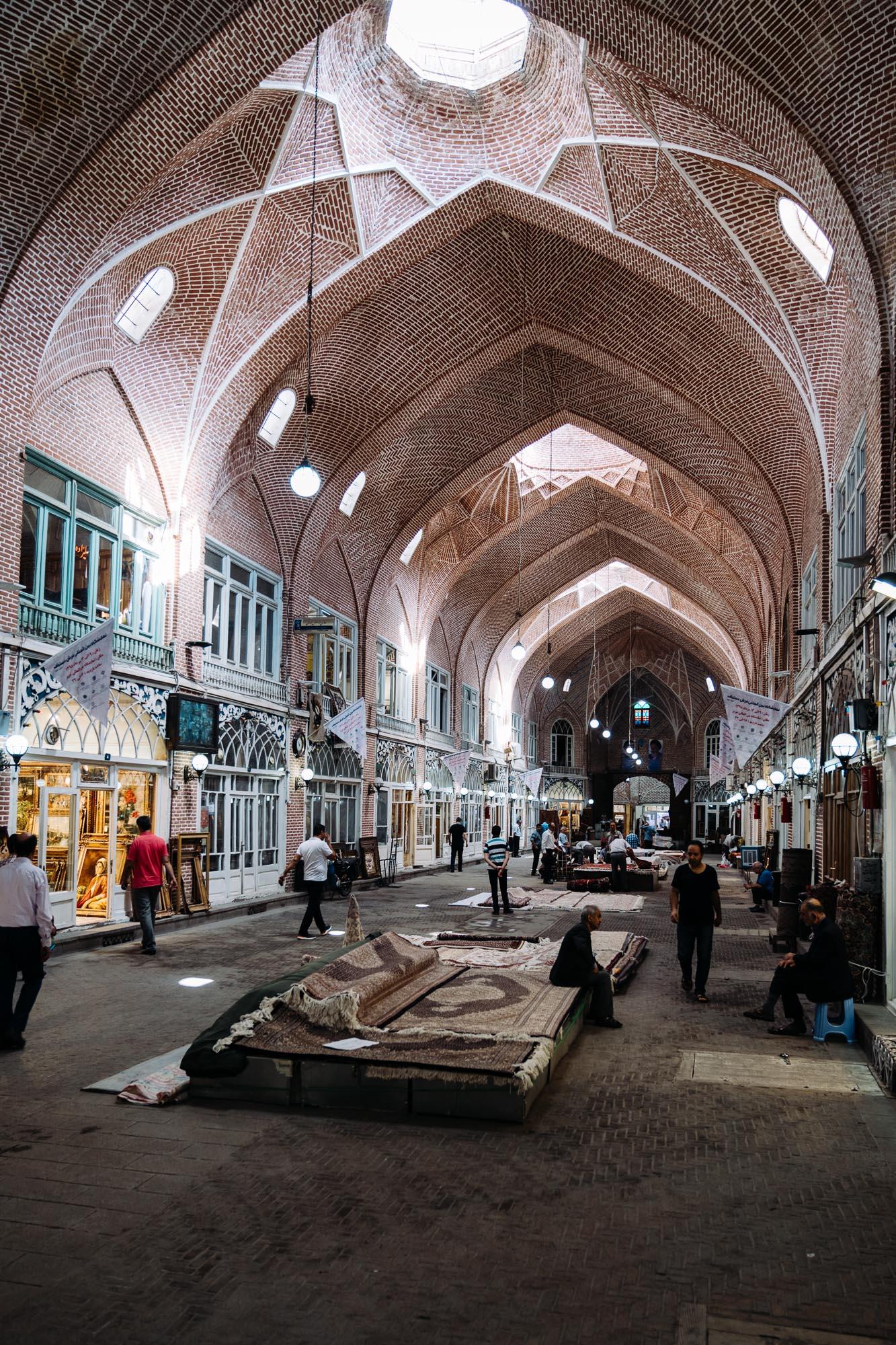 Tabriz Bazaar.